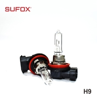 Manufacturers hot h9 halogen light bulb for car