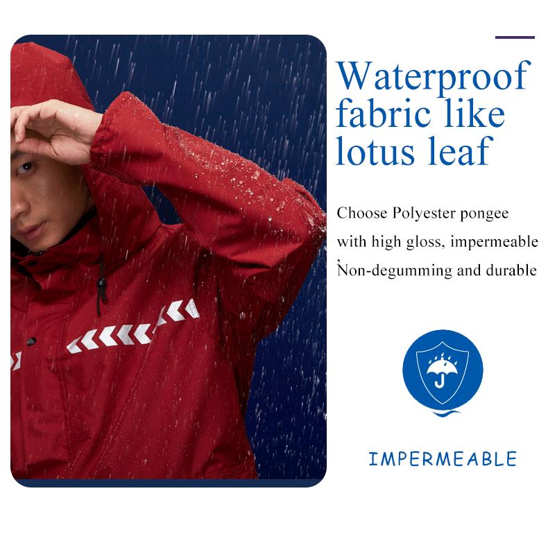 Imperméable à l'eau Douce Polyester pluie pour moto