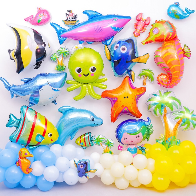 Wholesale Decorations Kids Birthday Themed Party Supplies Balloons