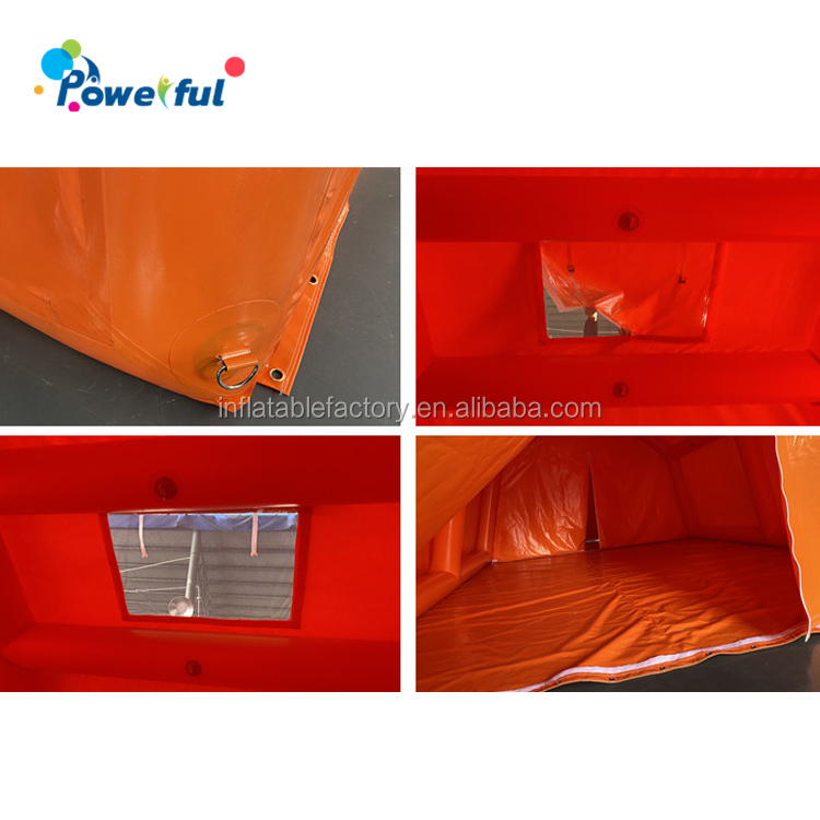 Outdoor portable multi function inflatable tent