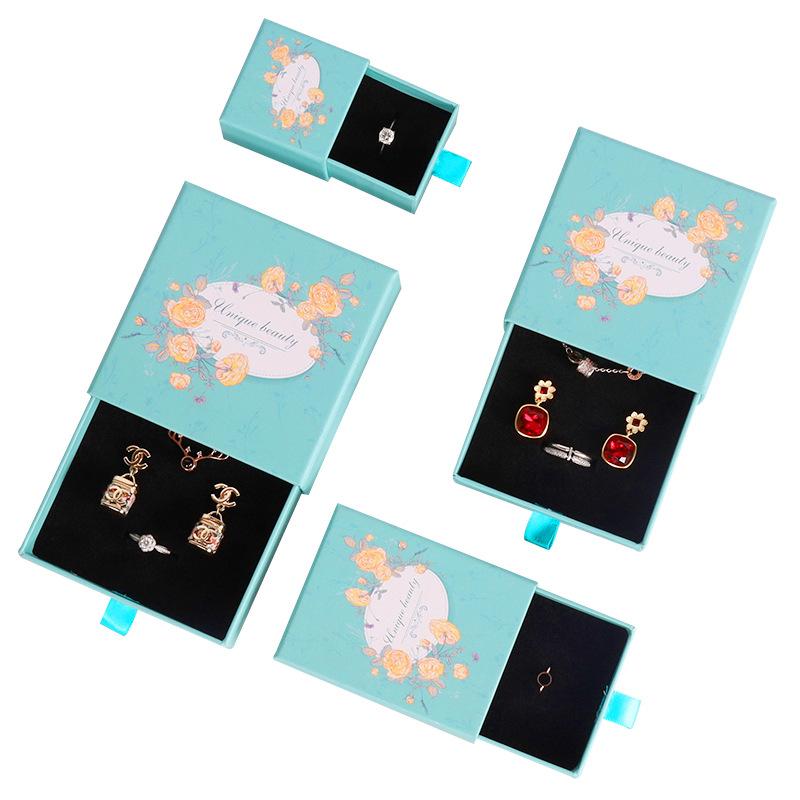도매 서랍 종이 상자 보석 포장 삽입 스폰지