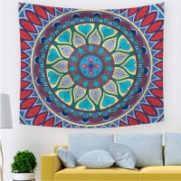 Wholesale African Print Mandala Indian Eco Friendly Home Decor Wall Tapestry