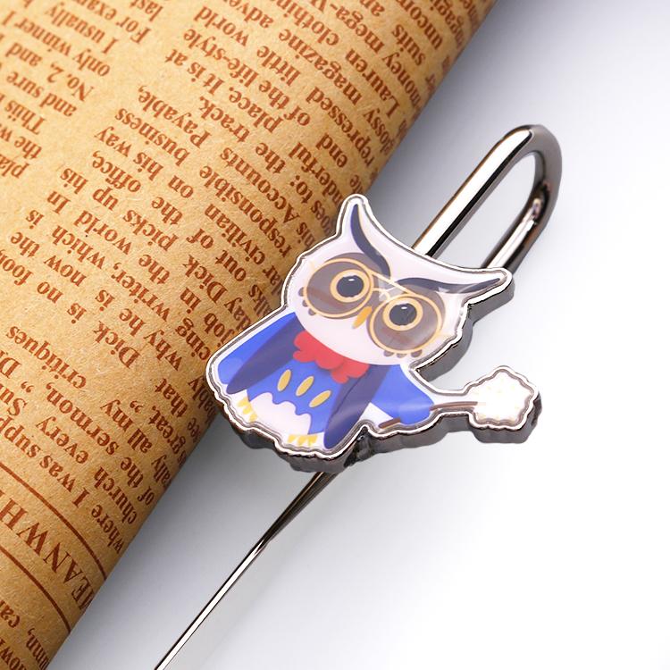 souvenir custom deer hollow  3d bookmark/metal bookmark