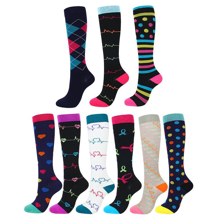 Z-Chen 5 Pairs Unisex Baby Kids Knee High Socks Stockings