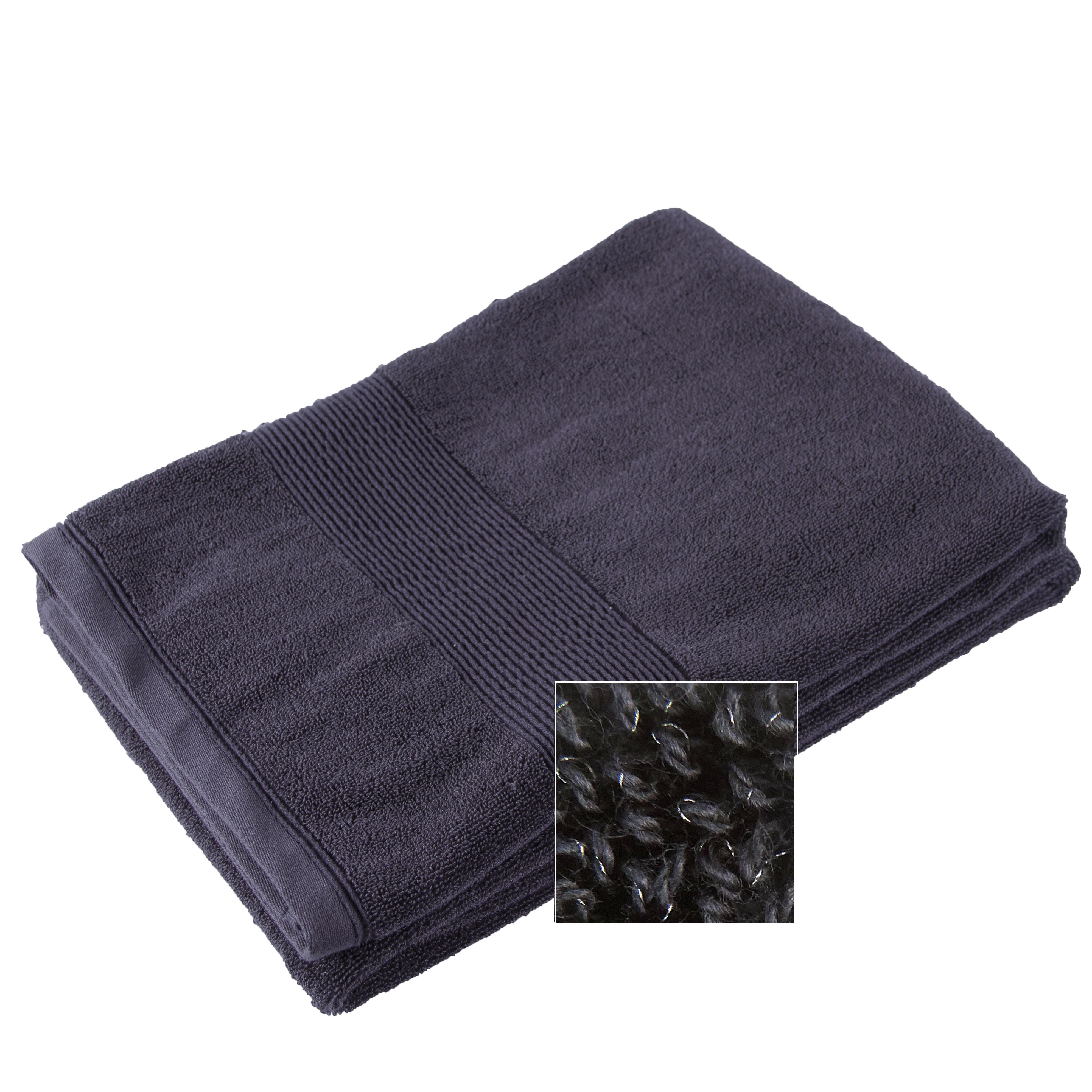 Antibacterial  Silver thread infused Bath Towel