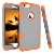 2019 new products Anti-drop 4 in 1 TPU+PC Contrast color robot mobile phone case for iPhone 6 5.5inch