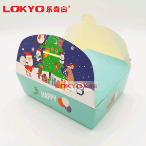 Wholesale high quality custom biodegradable corrugated paper fast food box pizza box