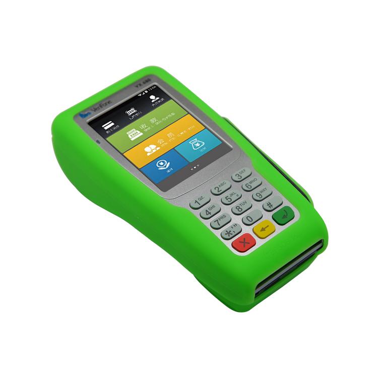 Ingenico EFT 930g macchina di carta di credito con BATTERIA /& base carica /& custodia in pelle