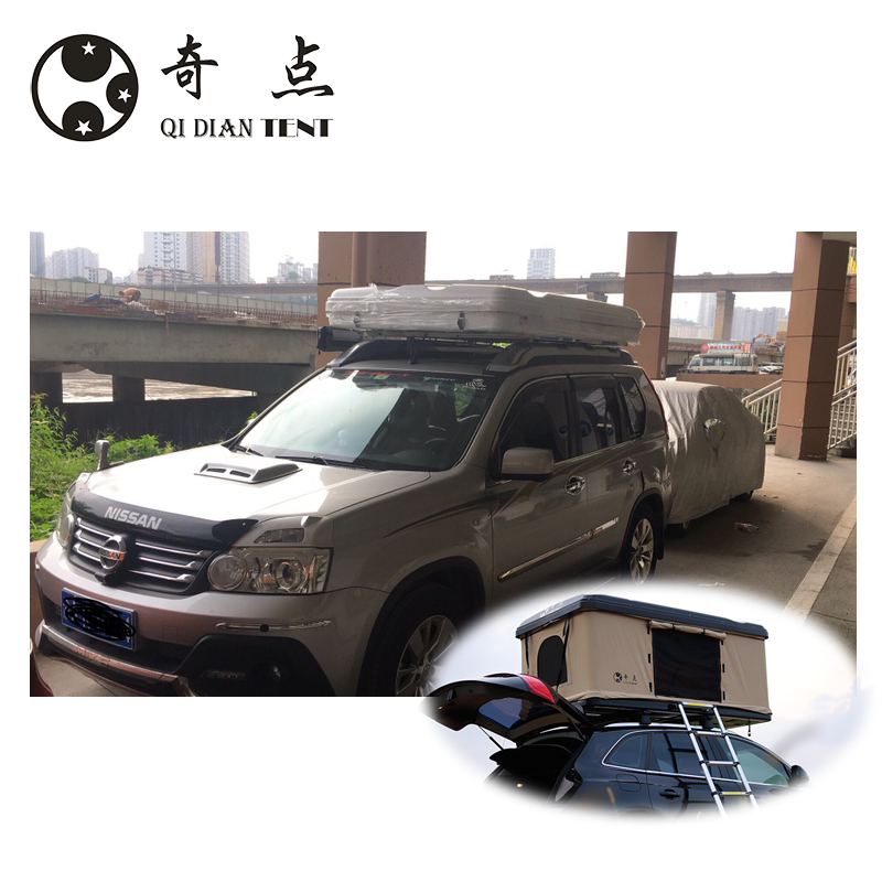 Custom SUV car roof top camping top tent high quality hard shell <strong>1</strong> PCS available