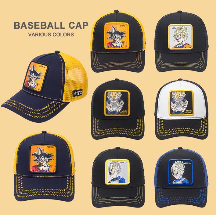 GL Mesh Back Snapback Unisex Ontwerp Man Vrouwen DBZ Baseball Caps Beste Gift Dragon Ball Z Trucker Hoed Goku Dragonball cap