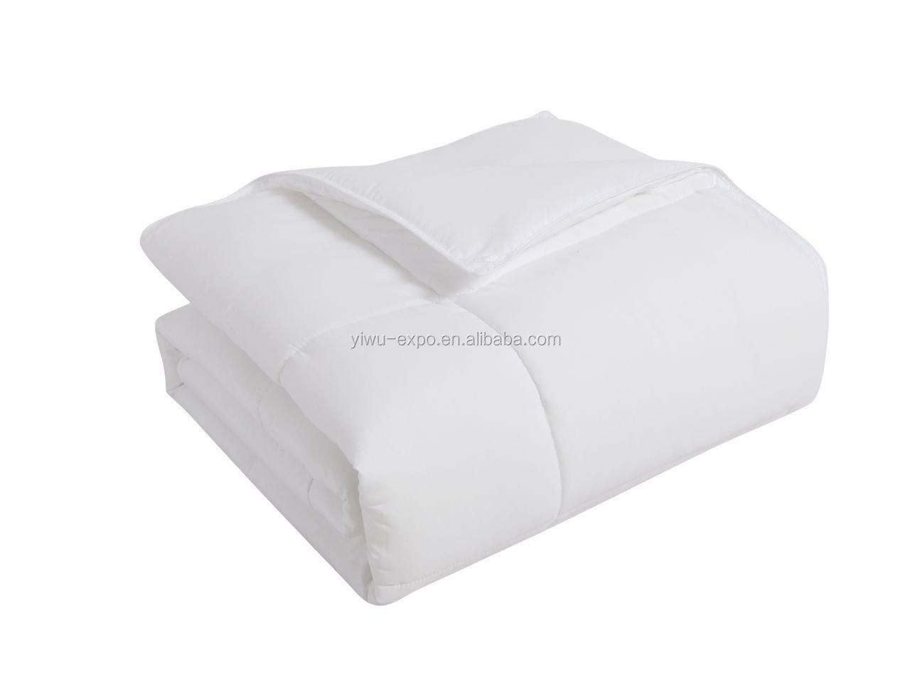 microfiber filling white duvet for home