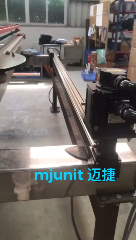 mjunit MJ80 with 2400mm stroke length Timing Pulley Reducer linear motor actuator linear rail unit low price