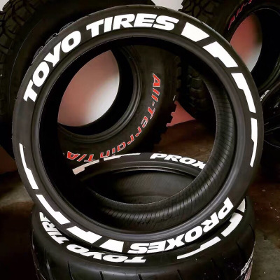 Toyo <strong>Tires</strong> Proxes <strong>Tire</strong> Stickers Wheels Label Lettering Decal 3D Fits 14&quot; To 22&quot; <strong>Tires</strong> (10 Decal Kit)