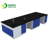 Full steel Physical/chemistry lab bench/lab table/lab equipment