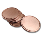 Custom Round Blank Metal Brass Copper Coin for artware