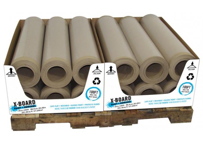 Construction Floor Temporary Protection Kraft Paper Board Rolls