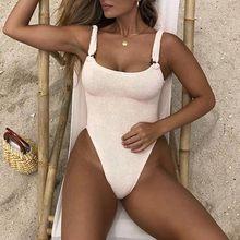 JAYCOSIN Спорт и развлечения купальники для женщин одна деталь печати Strappy спинки Высокая талия мягкий бюстгальтер пляж бикини(Китай)
