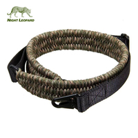 Manufacture Custom Military 100 % Nylon Gun Strap Hunting Paracord Rifle Sling
