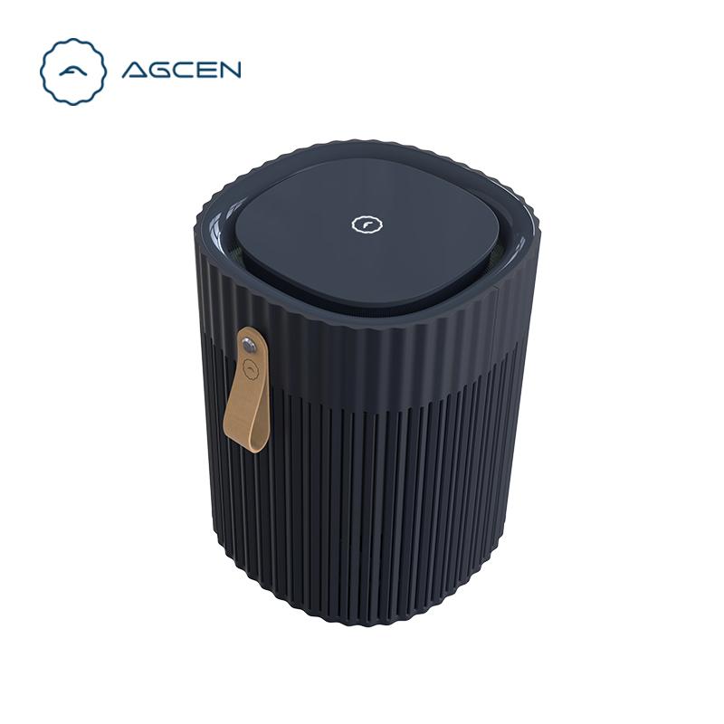 2020 New Design China OEM  True HEPA Filter Portable Air Purifier Desktop Air Purifier