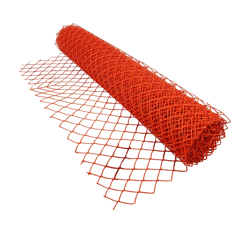 330g Diamond shape high quality bright color plastic snow fence
