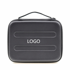 Wholesale Cheap Leather Hard Case Brand Name Tool Box Handmade Grooming EVA Foam Customer Zippered Carry Case