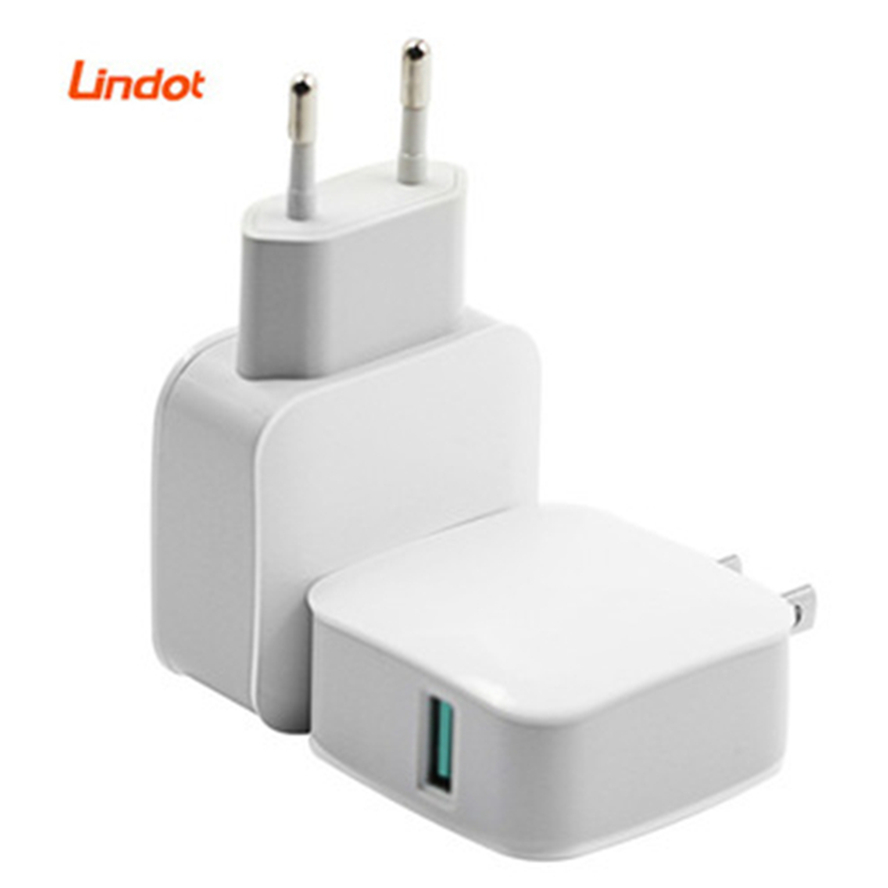 Chargeur rapide rapide QC3.0 QC2.0 usb chargeur adaptateur 18W chargeur mural portable pour Samsung iPhone Huawei