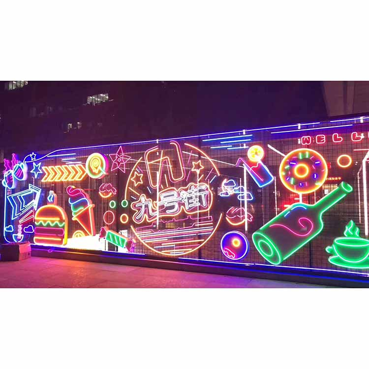Top Quality Low Price Custom Wall-mounted Led Neon Letters Sign Light