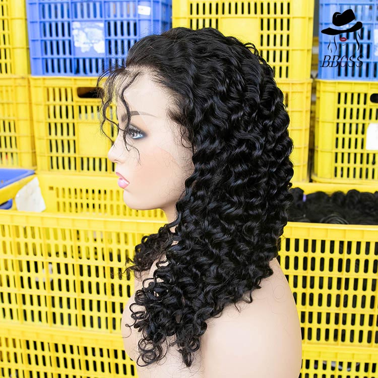 Aliexpress Wholesale Short Full Lace Wig With Baby Hair Bob Supply Old Lady Granny Wig Remy Practice Wig Cheap Woo Helmet Wigs Buy Full Lace Wig With Baby Hair Bob Full Lace Wig With