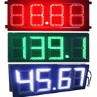 Petrol Digit xxx Outdoor For Oil Digital Board Display Station Led Gas Price Sign