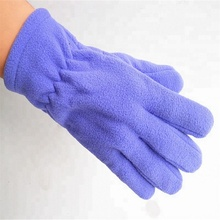 new promotional embroidery logo cheap sport fleece gloves