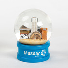 Wholesale custom Uae future desert city tourism souvenirs high-end gift snowballs crystal ball