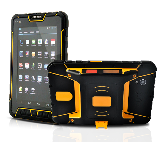3GB di Rom 32GB di RAM Pda Rugged Industriale Tablet Android Con RFID UHF/2D Scanner di Codici A Barre ST907V4.0-HG + 8M