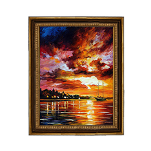 Wall Wood Foil Gold Framed Oil Painting Frames