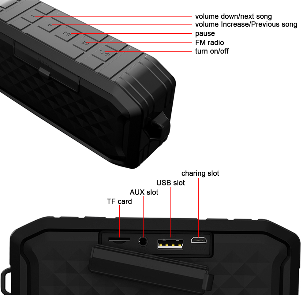Patent stereo bluetooth wireless speakers for motorcycle