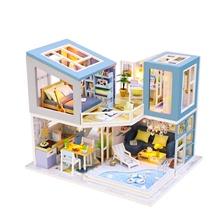 Promozione Casa Delle Bambole In Legno In Miniatura