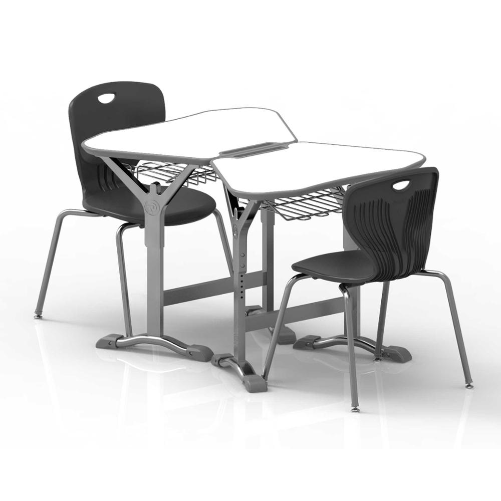 L.Doctor Multi Function Collaborative School Tables and Chairs Height Adjustable