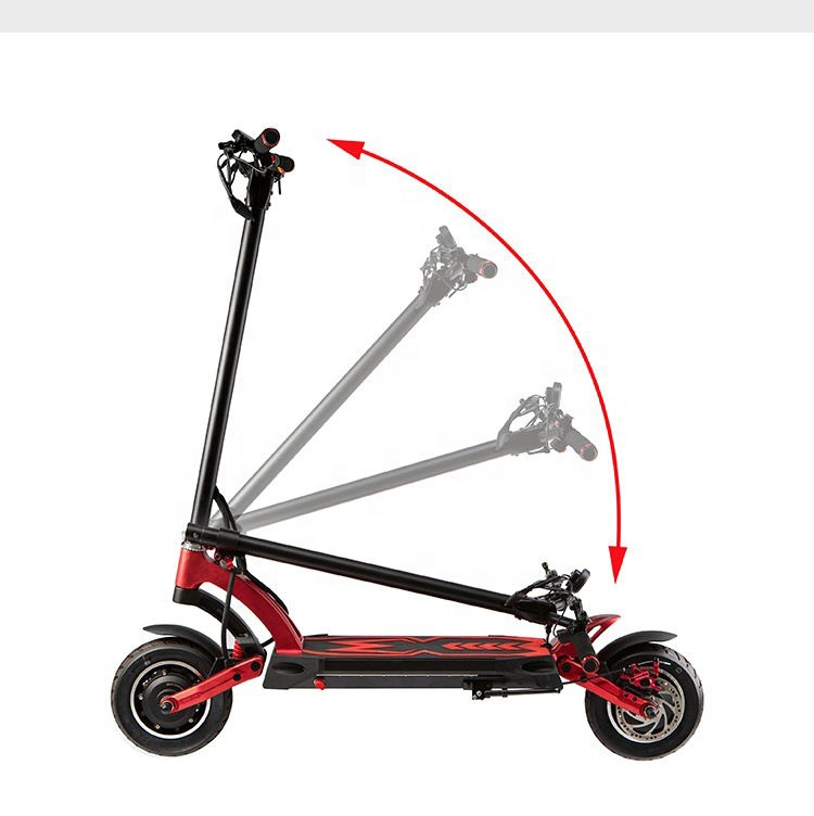 2019 new fashion foldable kaabo skywalker Mantis electric scooter 2000w electric mobility scooter, Black