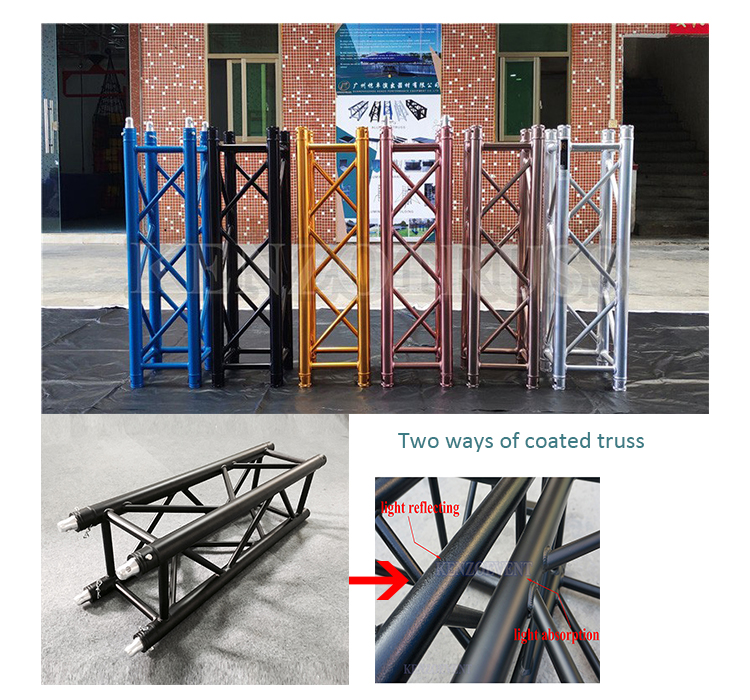 China manufacture portable aluminum dj booth truss for sale