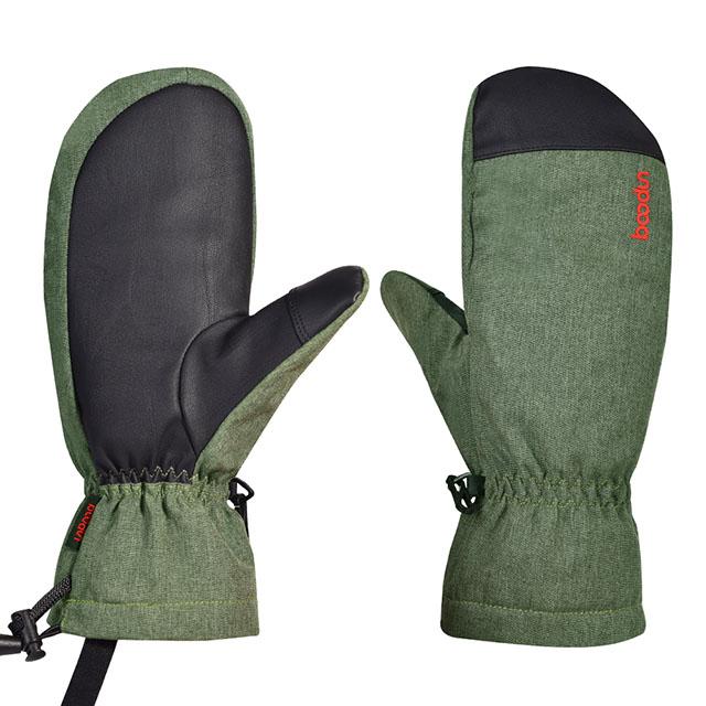 Boodun водонепроницаемые перчатки для сноуборда зимние уличные лыжные перчатки