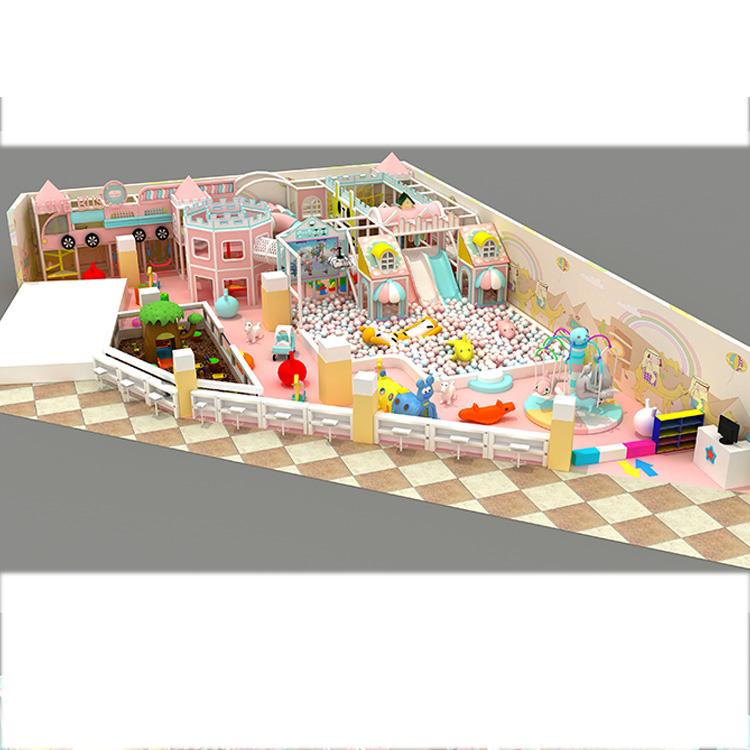 Cara Yang Bagus untuk dengan Aman Bermain Aktif Lembut Indoor Playground Kids Wenzhou Retail dengan Harga Pabrik