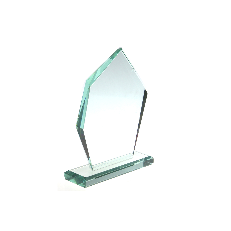 Grazia di Cristallo di Sport Trofeo Personalizzato Regali Aziendali di Cristallo in Bianco Trofeo Trofeo De Cristal Giada Trofeo in Vetro