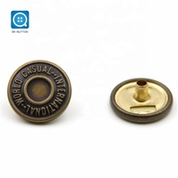 15mm round magnetic big metal Jacket clothes Snap button