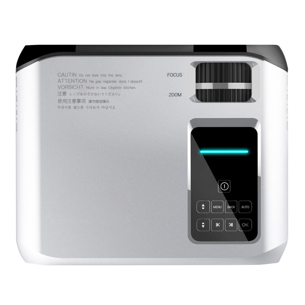 미니 프로젝터 4k E500H 휴대용 LCD 프로젝터 led 스마트 안드로이드