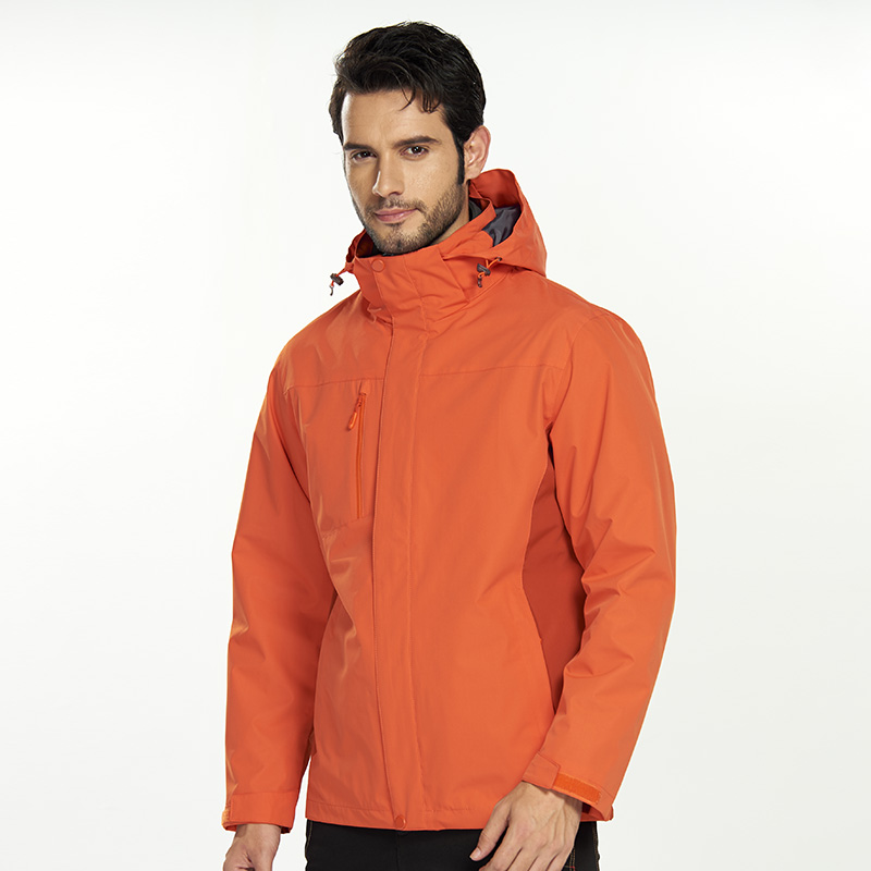 Hiking Climbing Wind beaker Cold-proof Anti-fouling Waterproof Double-deck Winter Jacket