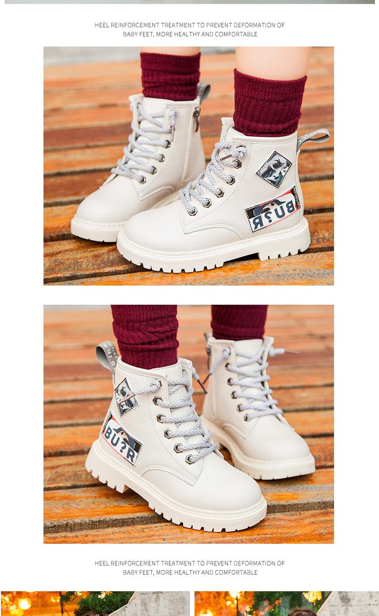 Commercio all'ingrosso di New Ragazzi Delle Ragazze di Disegno Per Bambini personalizzate della caviglia di Inverno Stivali di Pelle di Neve 2019 Bambini Scarpe Da Tennis Scarpe Casual