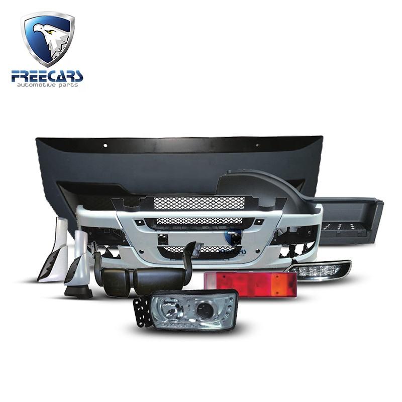 Precio bajo de alta calidad piezas de cuerpo de camión de la luz de la cabeza 5801639118 RH 5801639122 LH utilizado para Iveco Stralis