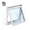 Hurricane Impact Window s Glass Design, U Pvc Sound Burglar Water Storm Proof Awn ing Window