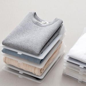 plastic t-shirt organizer hot selling  cheap home use clothing organizer