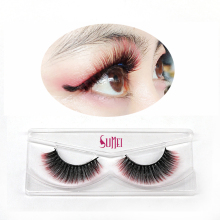 Commercio all'ingrosso private label <span class=keywords><strong>ciglia</strong></span> colore per il partito make up 3D <span class=keywords><strong>colorato</strong></span> eye lashes