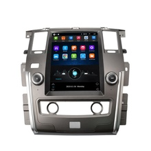 Big Screen Android 9.0 Auto Dvd Multimedia Speler Voor Nissan Patrol 2010-2018 <span class=keywords><strong>Gps</strong></span> Kaart Bt Audio Radio Stereo hoofd Unit